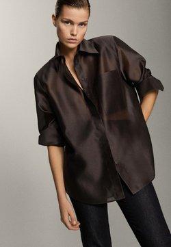 Massimo Dutti - Skjortebluser - brown