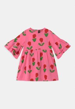 Mini Rodini - VIOLAS WOVEN FLARED SLEEVE  - Blusenkleid - pink