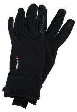 Ziener - IDIWOOL TOUCH GLOVE MULTISPORT - Fingerhandschuh - black