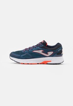 Joma - VITALY - Neutral running shoes - blue/orange