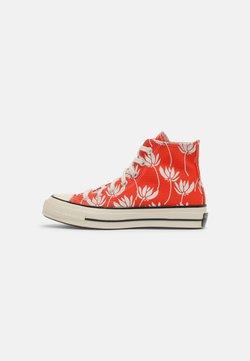 Converse - CHUCK 70 - Sneakersy wysokie - bright poppy/egret/black