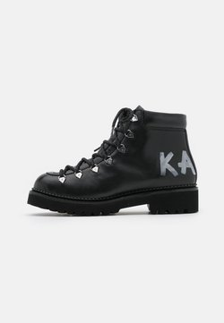 KARL LAGERFELD - KADET HIKER BOOT - Bottines à lacets - black