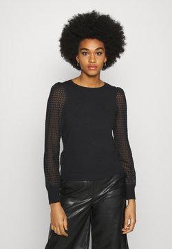 Vero Moda - VMMUMO O NECK - Jersey de punto - black