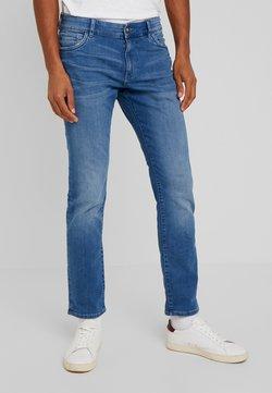 TOM TAILOR - JOSH - Straight leg jeans - used bleached blue denim
