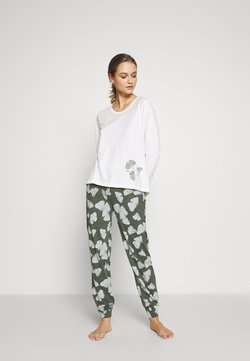 Esprit - HANNI SET - Pyjama - light khaki