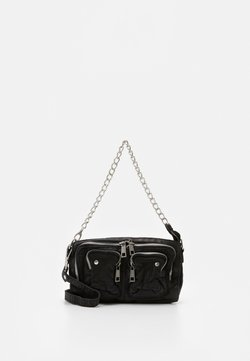 Núnoo - STINE CHAIN WASHED - Torba na ramię - black