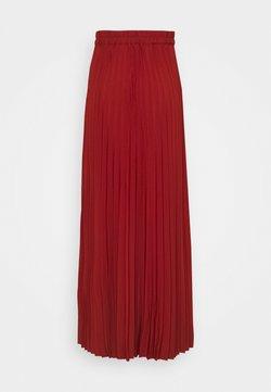 Selected Femme Tall - SLFALEXIS SKIRT - A-linjainen hame - bordeaux