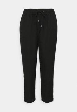 MY TRUE ME TOM TAILOR - PANTS LOOSE FIT - Stoffhose - deep black
