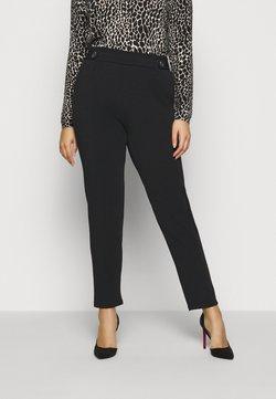 ONLY Carmakoma - CARBETTY PAPERBAG PANTS - Pantalon classique - black
