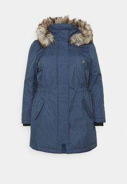 ONLY Carmakoma - CARIRENA COAT - Wintermantel - vintage indigo