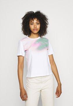 adidas Originals - T-Shirt print - white