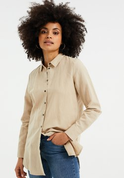 WE Fashion - Camicia - beige