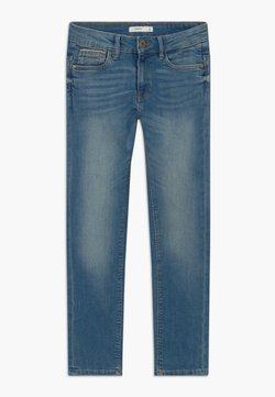 Name it - NKMTHEO PANT - Straight leg jeans - medium blue denim