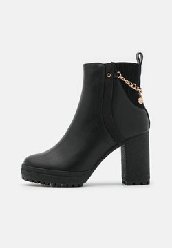 River Island - Bottines à plateau - black