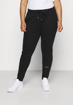 Calvin Klein Jeans Plus - PLUS MICRO BRANDING PANT - Jogginghose - black