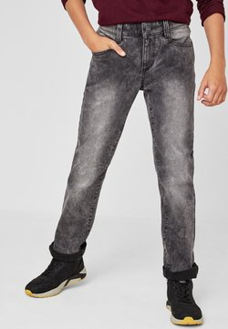 s.Oliver - Straight leg jeans - grey