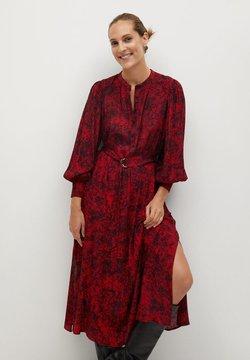 Mango - LULU - Robe longue - rouge