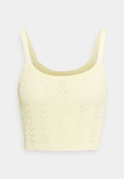 Cotton On - PARTNERS IN POINTELLE CAMI - Top - lemon