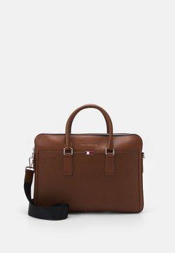 Tommy Hilfiger - BUSINESS SLIM COMP BAG UNISEX - Mallette - brown