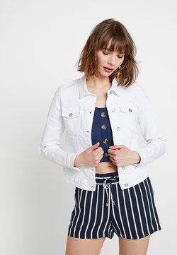 ONLY - ONLTIA JACKET - Veste en jean - white