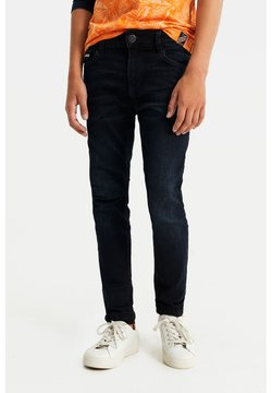 WE Fashion - JONGENS SELVEDGE JEANS - Slim fit jeans - dark blue