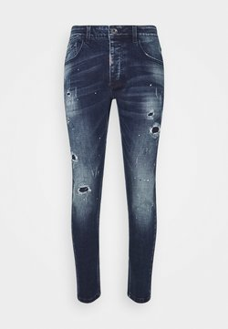 Alessandro Zavetti - SUPER SLIM  - Relaxed fit jeans - indigo