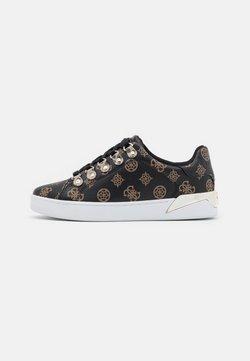 Guess - RENEEY - Sneakers - brown/ocra