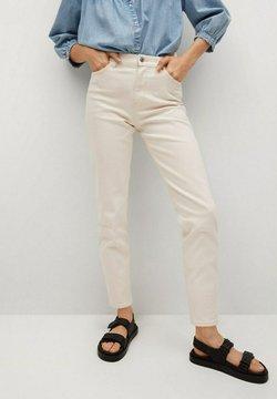 Mango - Slim fit jeans - off white