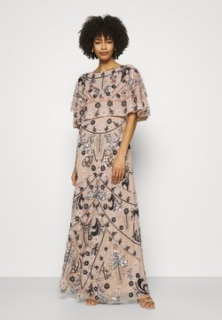 Maya Deluxe - ALL OVER EMBELLISHED CAPE DRESS - Robe de cocktail - multi