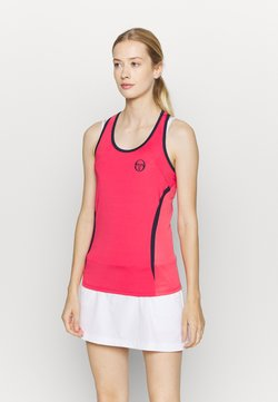 sergio tacchini - EVA TANK - Funktionsshirt - rougered/navy