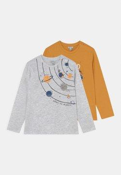 OVS - BABY SPACE 2 PACK - Camiseta de manga larga - beeswax/nimbus cloud