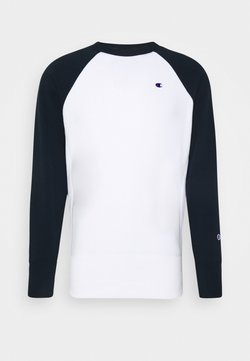 Champion Reverse Weave - CREWNECK - Sweater - white/navy