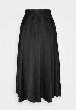 Vero Moda Tall - VMCHRISTAS CALF SKIRT  - A-lijn rok - black