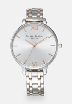 Olivia Burton - THE ENGLAND - Uhr - silver-coloured/white