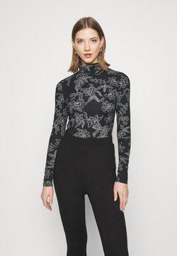 Vero Moda - VMFEABI - Långärmad tröja - black/filip