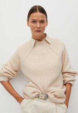 Mango - MIRROR - Sweter - světle/pastelově šedá