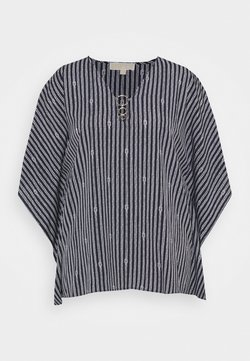 MICHAEL Michael Kors - KNOT STRIPE - Bluse - midnight blue/white
