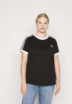 adidas Originals - TEE - T-Shirt print - black/white