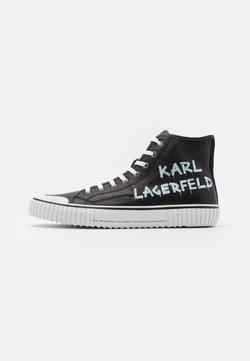 KARL LAGERFELD - KAMPUS BRUSH LOGO - Sneaker low - black