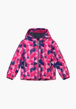 Killtec - VIEWY - Kurtka snowboardowa - pink/dark blue