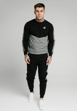 SIKSILK - CUT AND SEW JOGGERS - Jogginghose - black