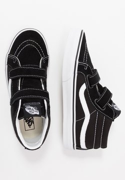 Vans - SK8 MID - Korkeavartiset tennarit - black/true white