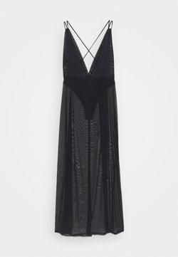 BlueBella - PALOMA LONG CHEMISE - Nachthemd - black