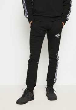 Umbro - TAPED JOGGER - Jogginghose - black
