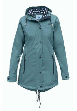 MADSea - Regenjacke / wasserabweisende Jacke - petrolblau