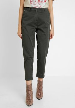 G-Star - PAGE MID BAGGY BF ANKLE CHINO WMN - Chinot - premium micro str twill od