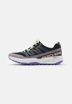 Skechers Performance - GO TRAIL JACKRABBIT - Zapatillas de trail running - black/multicolor