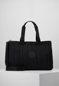Desigual - DUFFLE BAG PLEATS SET - Sporttasche - black