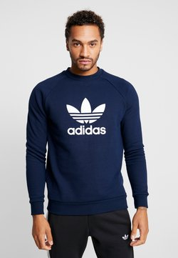 adidas Originals - TREFOIL CREW UNISEX - Sweater - collegiate navy