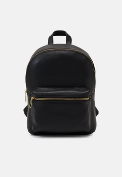 Zign - LEATHER - Tagesrucksack - black